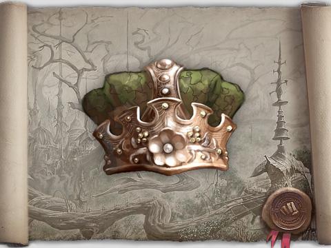 Корона царя цветов бк кпб сатин евро купить